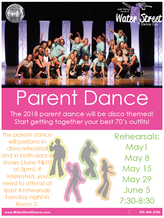 Parent Dance Flier screenshot